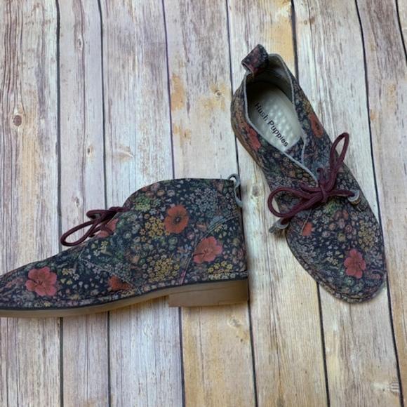 721b139ef81 [Hush Puppies] Floral Cyra Catelyn Chukka Boots